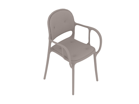 A generic rendering - Magis Mila Chair-Upholstered