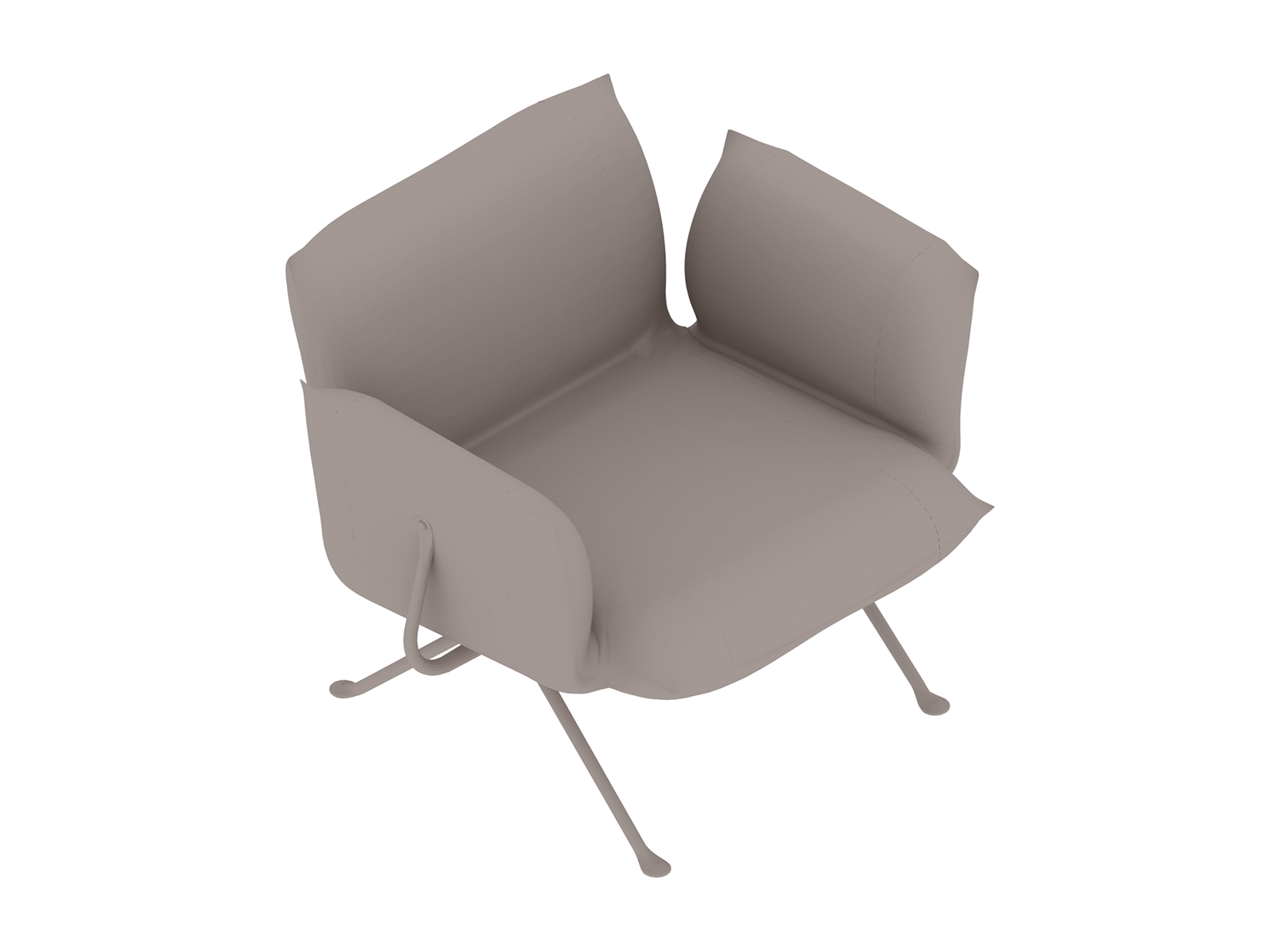 A generic rendering - Magis Officina Armchair