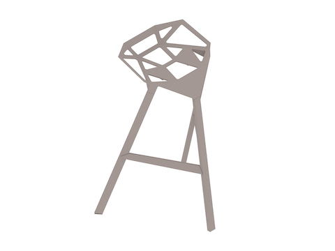 A generic rendering - Magis Stool_One