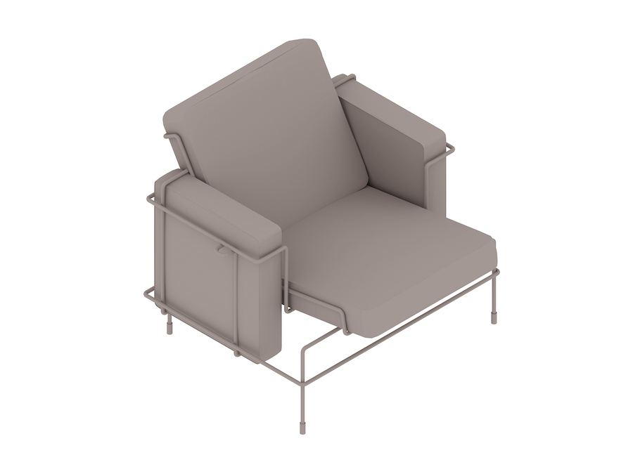 Magis Traffic Armchair 3D Product Models Herman Miller