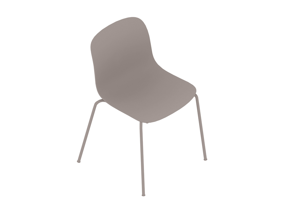 A generic rendering - Magis Troy Plastic Chair–Armless