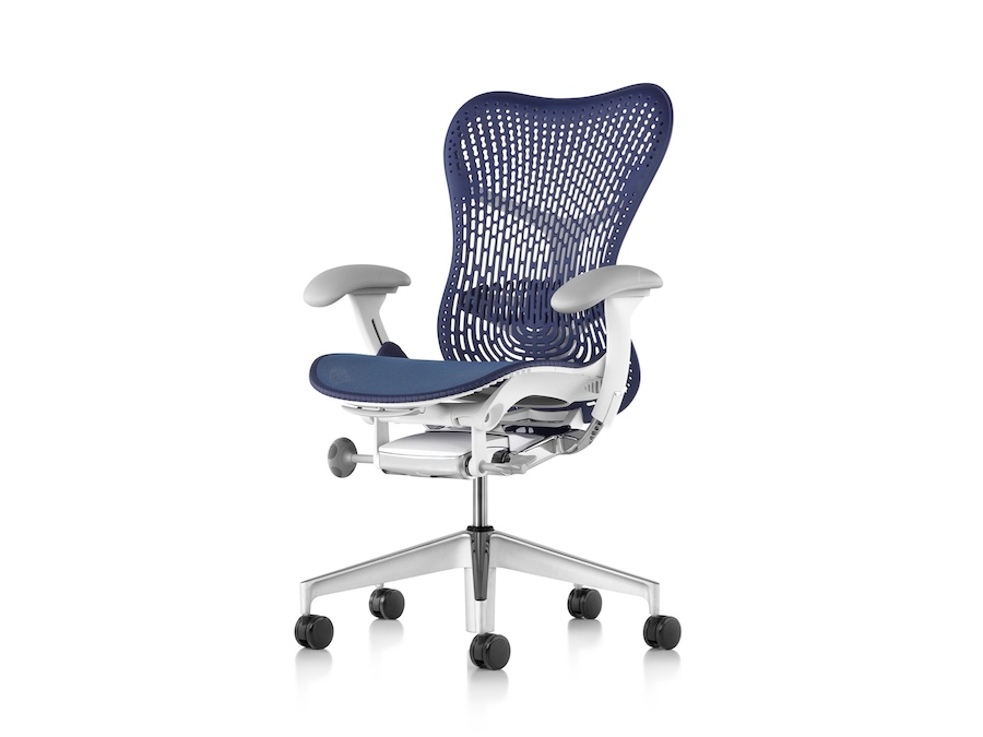 A photo - Mirra 2 Chair–Polymer Back–Adjustable Arms