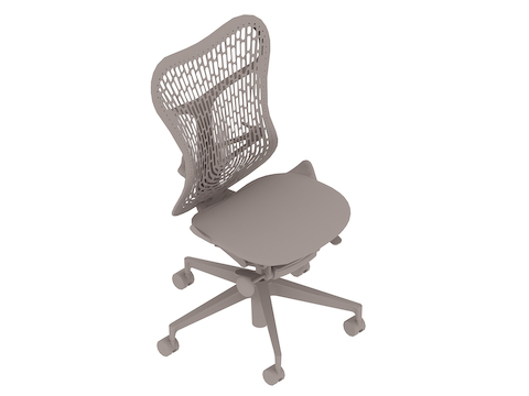A generic rendering - Mirra 2 Chair–Polymer Back–Armless