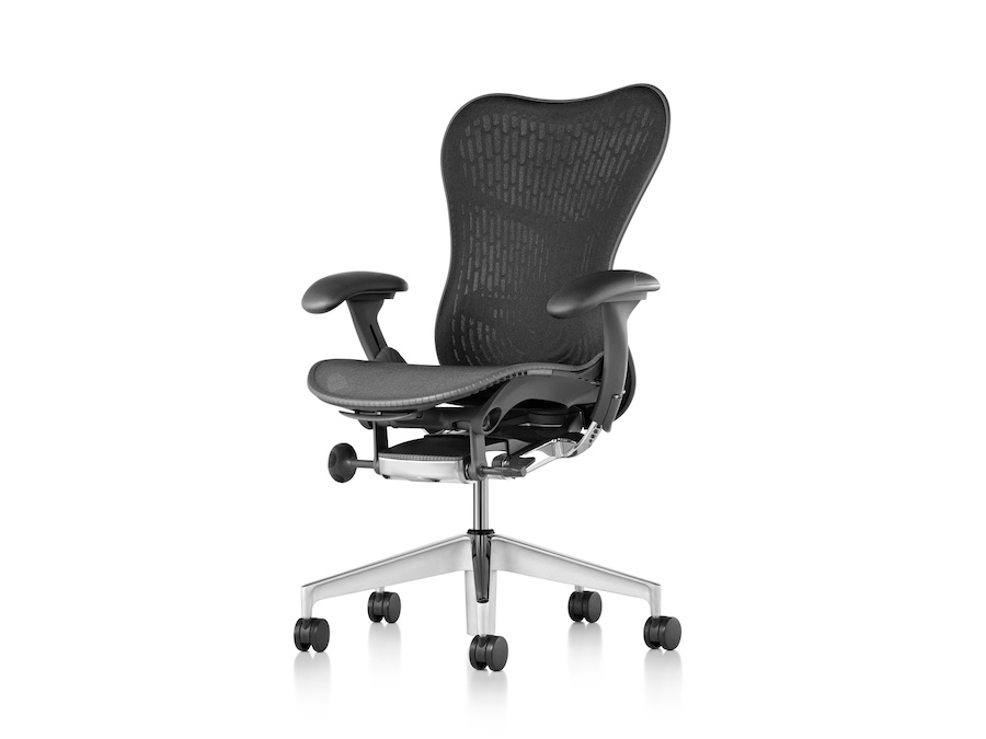 A photo - Mirra 2 Chair–Suspension Back–Adjustable Arms