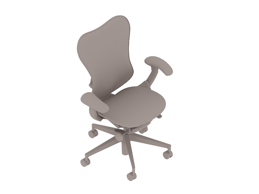 A generic rendering - Mirra 2 Chair–Suspension Back–Fixed Arms