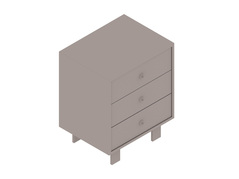 A generic rendering - Nelson Basic Cabinet Series–24H–24W