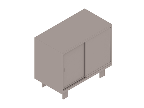 A generic rendering - Nelson Basic Cabinet Series–24H–34W