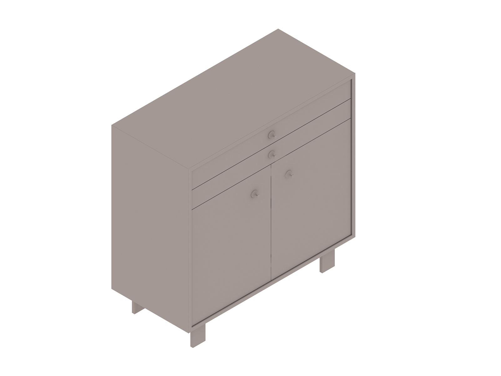 A generic rendering - Nelson Basic Cabinet Series–34H–40W