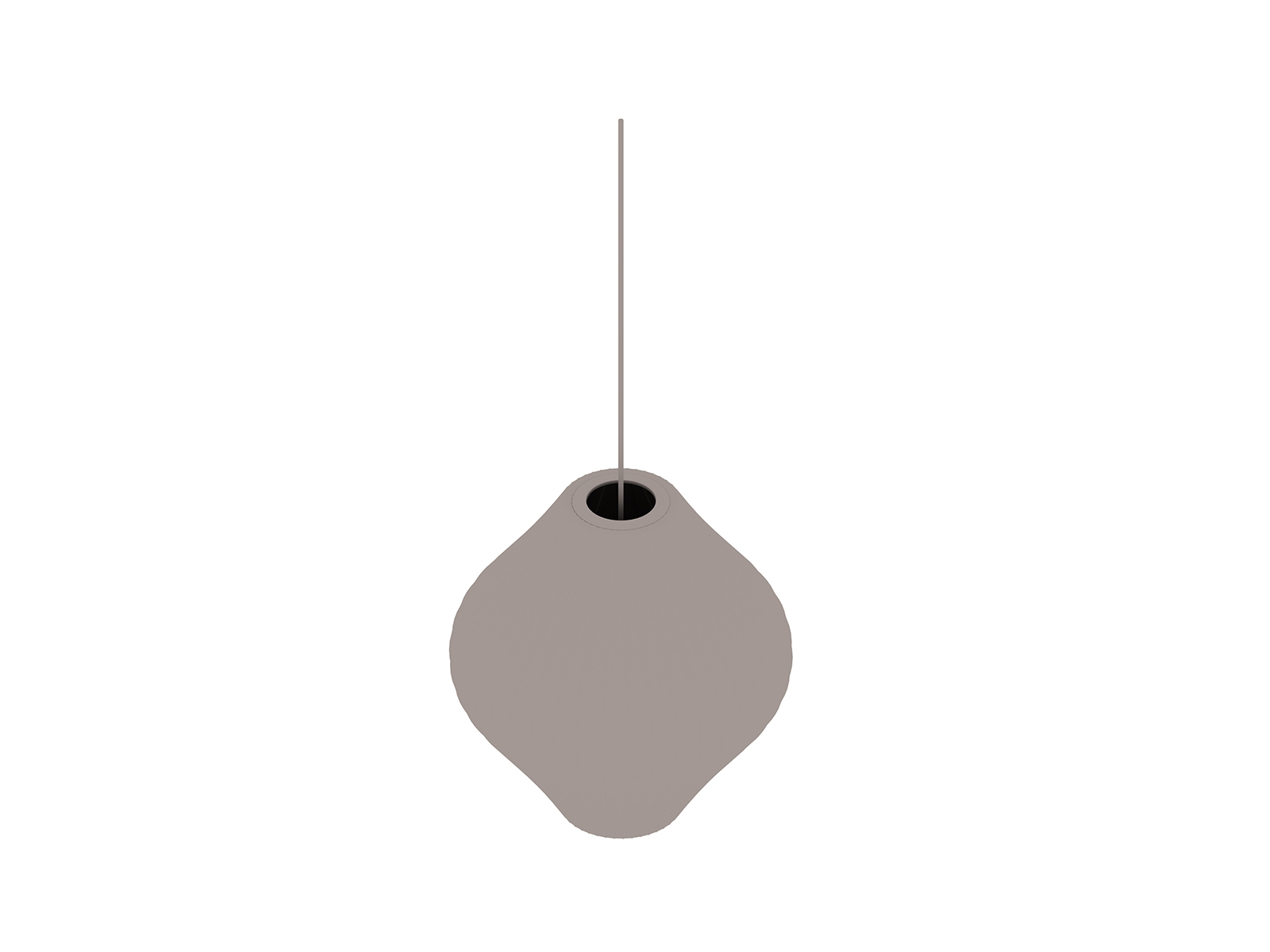 A generic rendering - Nelson Pear Bubble Pendant–Medium