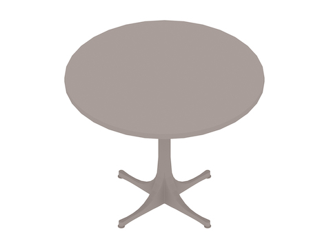 A generic rendering - Nelson Pedestal Table