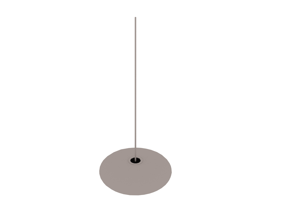A generic rendering - Nelson Saucer Bubble Pendant–Medium