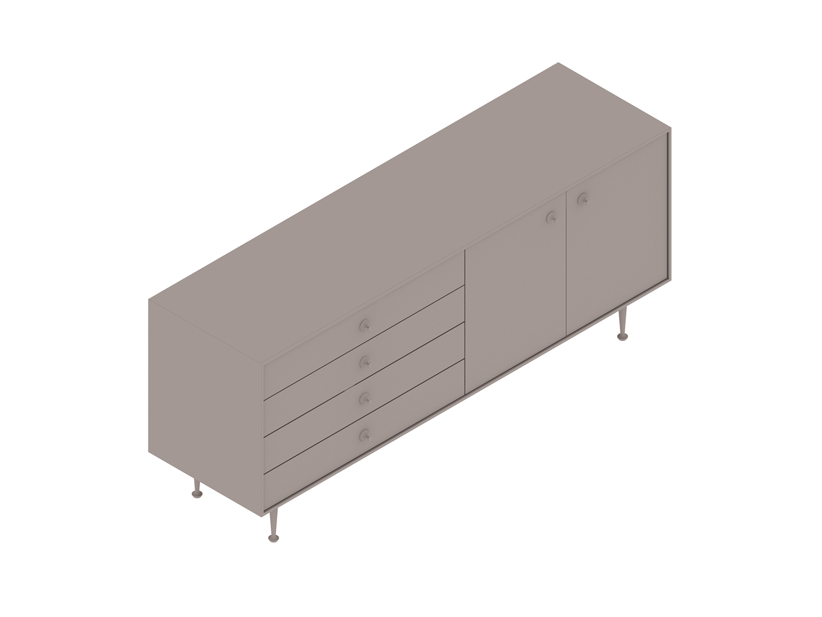 A generic rendering - Nelson Thin Edge Buffet