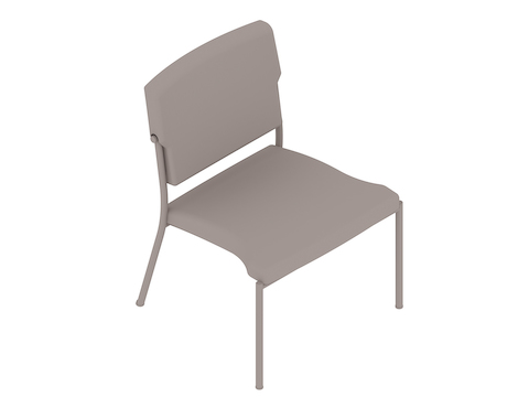 A generic rendering - Nemschoff Whisk Stacking Chair–Armless