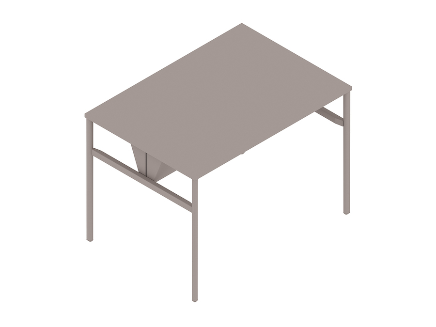 A generic rendering - OE1 Communal Table–Bar Height–1 Piece–Double Sided