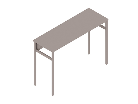 A generic rendering - OE1 Communal Table–Bar Height–1 Piece–Single Sided