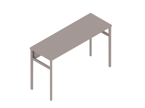A generic rendering - OE1 Communal Table–Counter Height–1 Piece–Single Sided