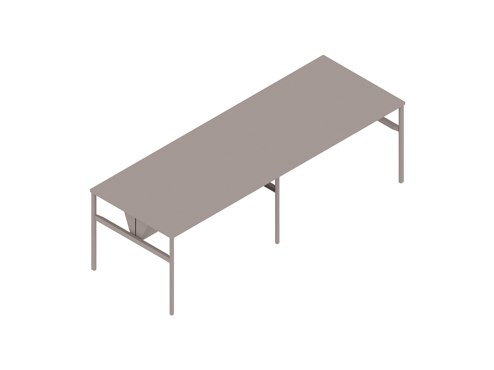 A generic rendering - OE1 Communal Table–Counter Height–2 Piece–Double Sided