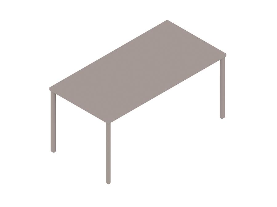 A generic rendering - OE1 Rectangular Table