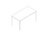 A line drawing - OE1 Rectangular Table
