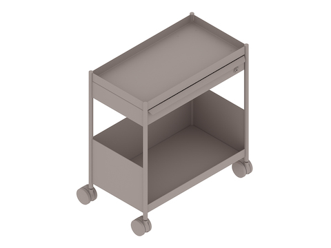 A generic rendering - OE1 Storage Trolley–Individual–Mobile