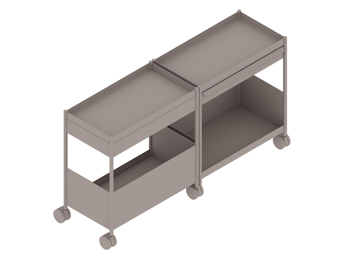 A generic rendering - OE1 Storage Trolley–Shared–Mobile