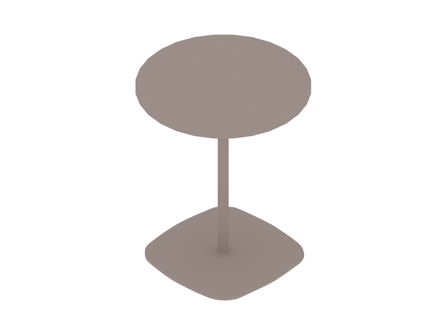 A generic rendering - Ped Bar Height Table–Round