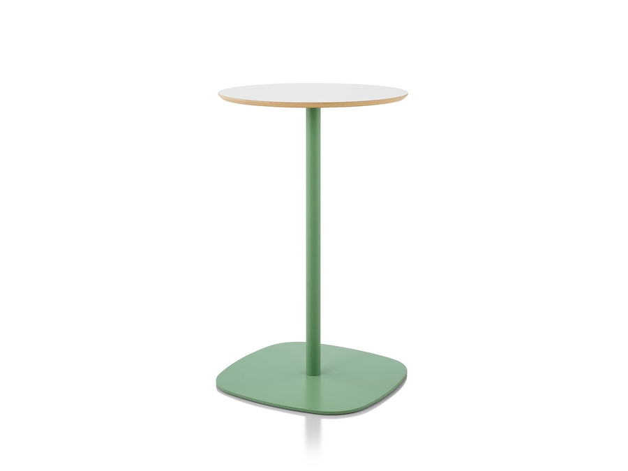 A photo - Ped Bar Height Table–Round