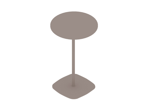 A generic rendering - Ped Café Table–Round