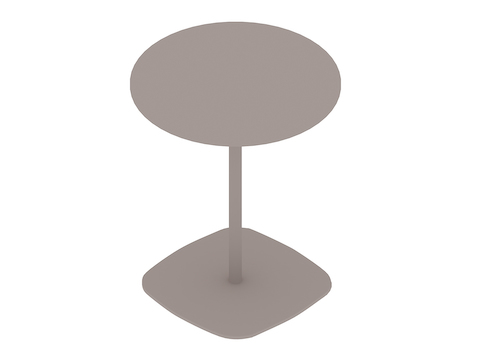 A generic rendering - Ped Coffee Table–Round