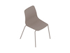 A generic rendering - Polly Side Chair–Armless–4-Leg Base