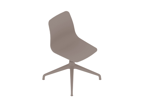 A generic rendering - Polly Side Chair–Armless–4-Star Base