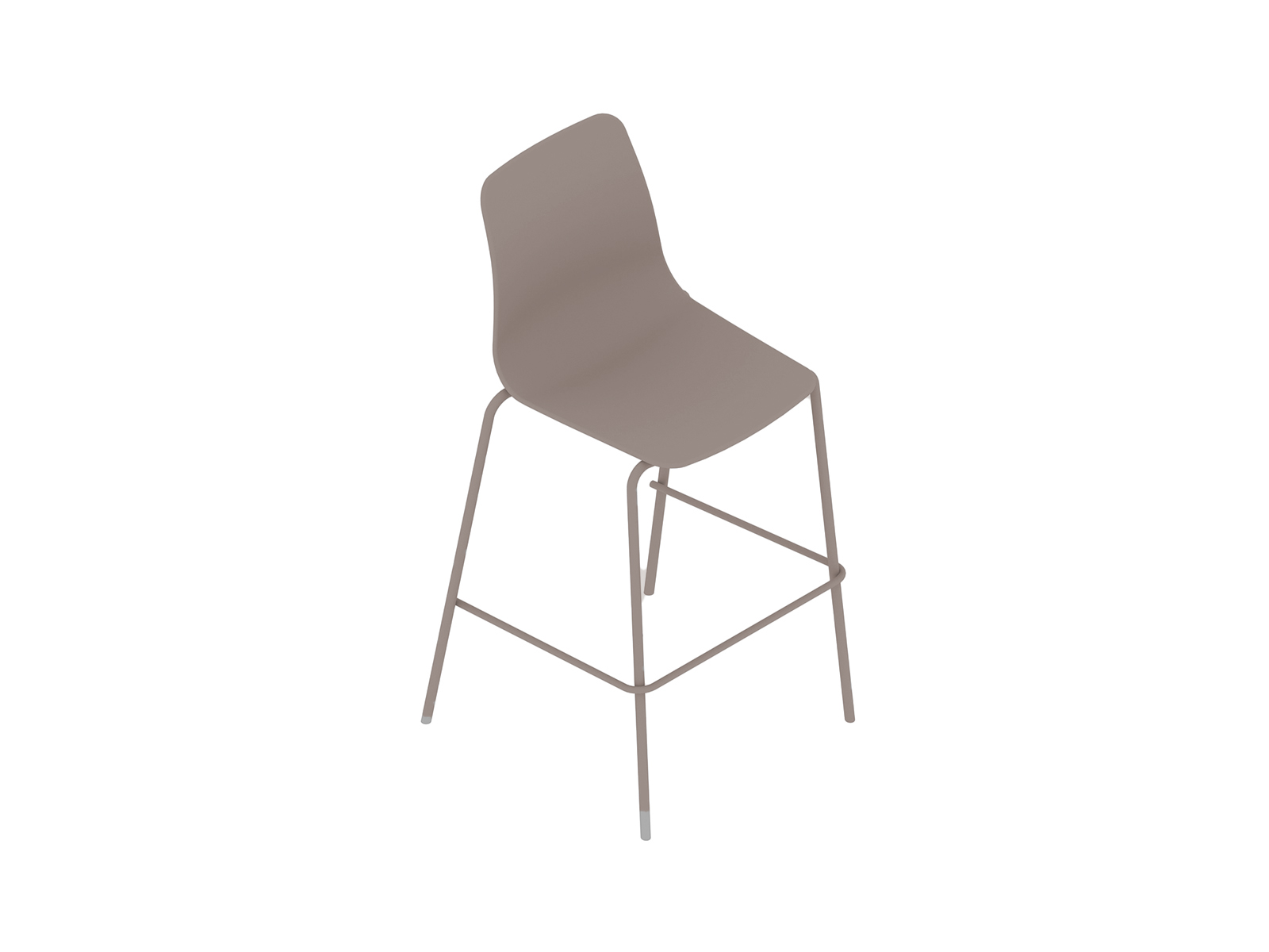 A generic rendering - Polly Stool–Bar Height