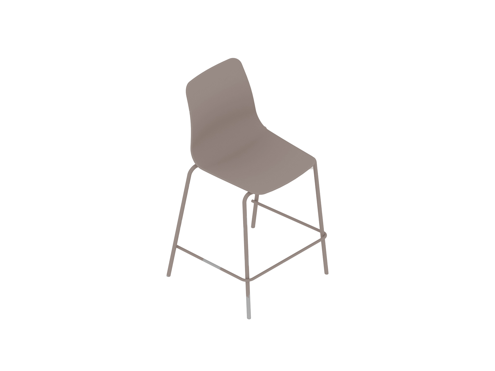 A generic rendering - Polly Stool–Counter Height