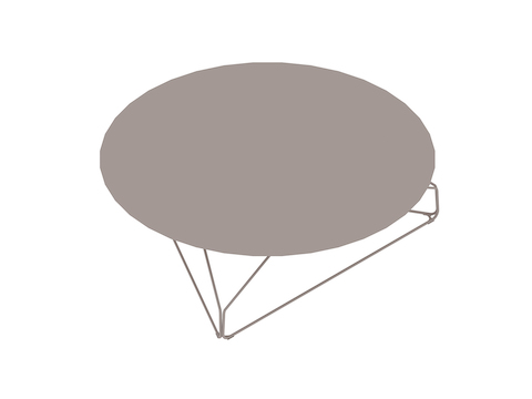 A generic rendering - Polygon Wire Table–Round
