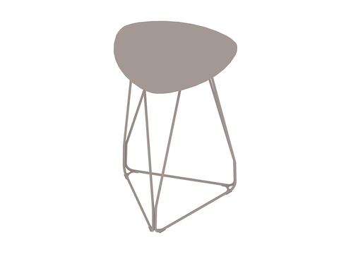 Een generieke rendering - Polygon Wire-tafel–Driehoek