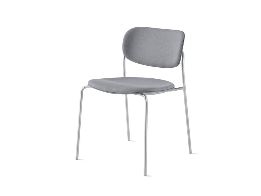 A photo - Portrait Chair–Armless–Upholstered