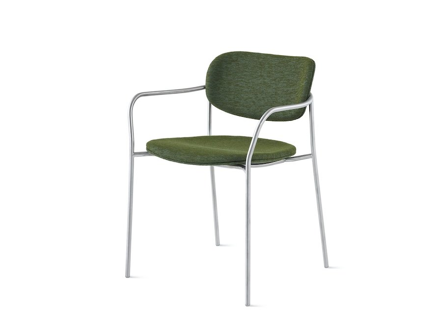 A photo - Portrait Chair–With Arms–Upholstered