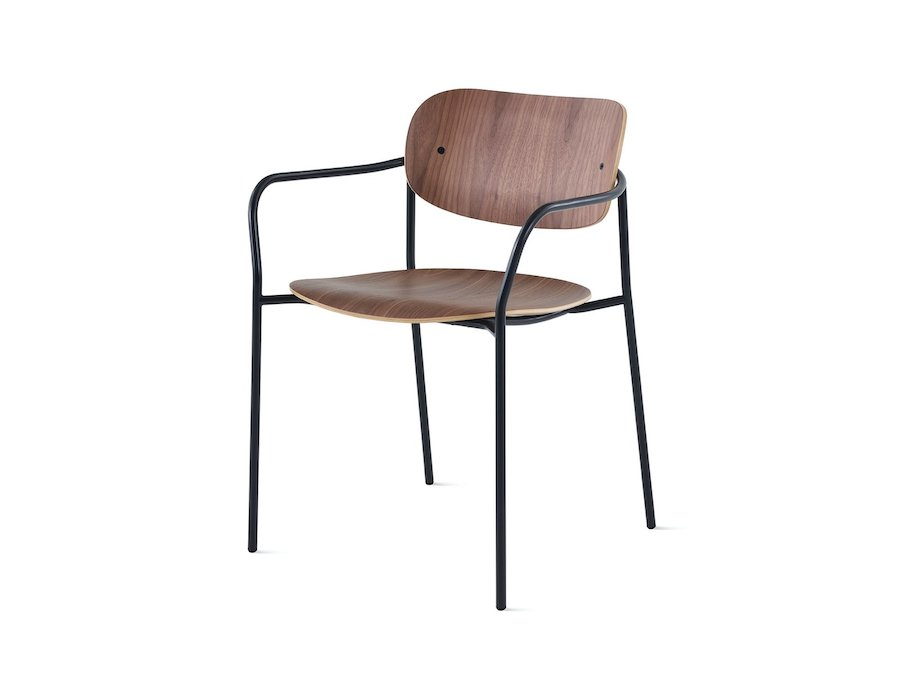 A photo - Portrait Chair–With Arms–Wood