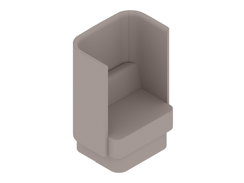 A generic rendering - Pullman Chair–Plinth Base