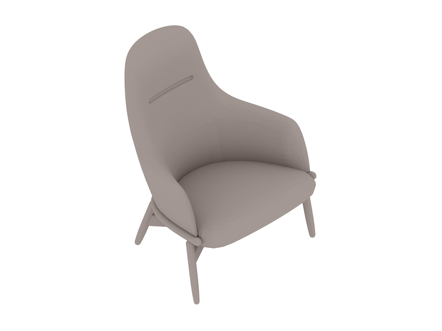 A generic rendering - Reframe Lounge Chair – High Back