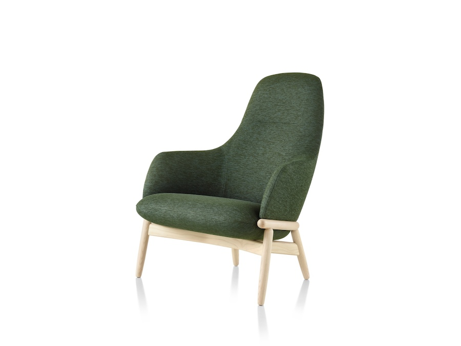 A photo - Reframe Lounge Chair – High Back