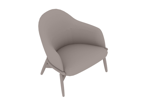 A generic rendering - Reframe Lounge Chair – Mid Back