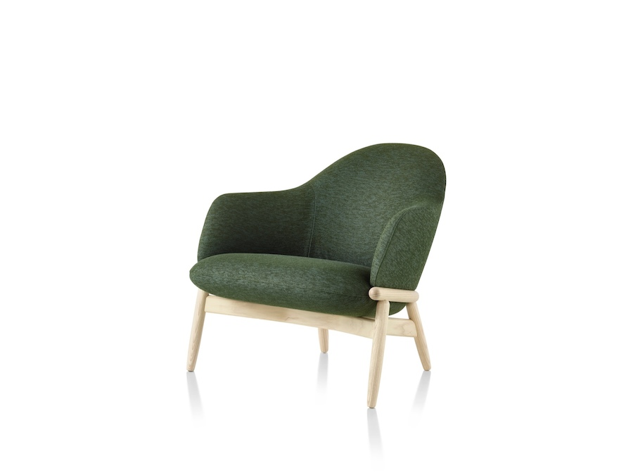 A photo - Reframe Lounge Chair – Mid Back