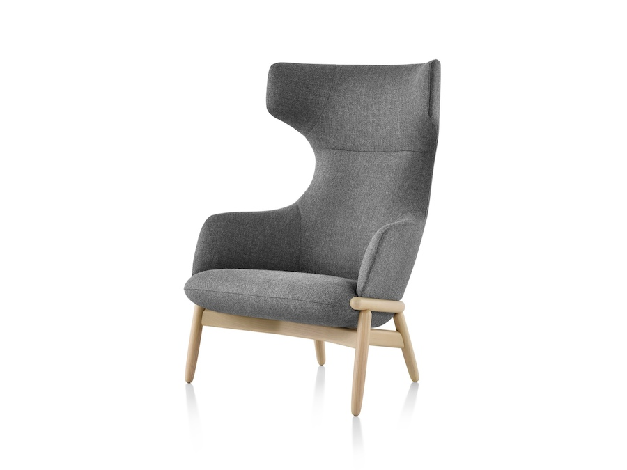 A photo - Reframe Lounge Chair – Wing Back