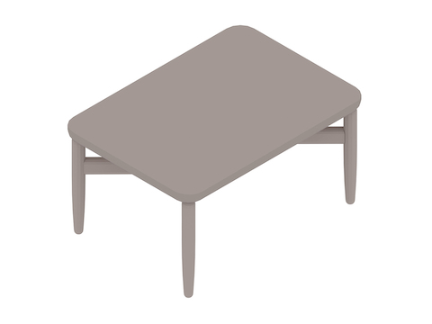 A generic rendering - Reframe Table–Rectangular