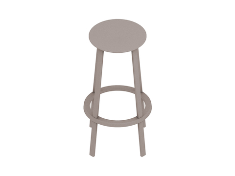 A generic rendering - Revolver Stool–Bar Height