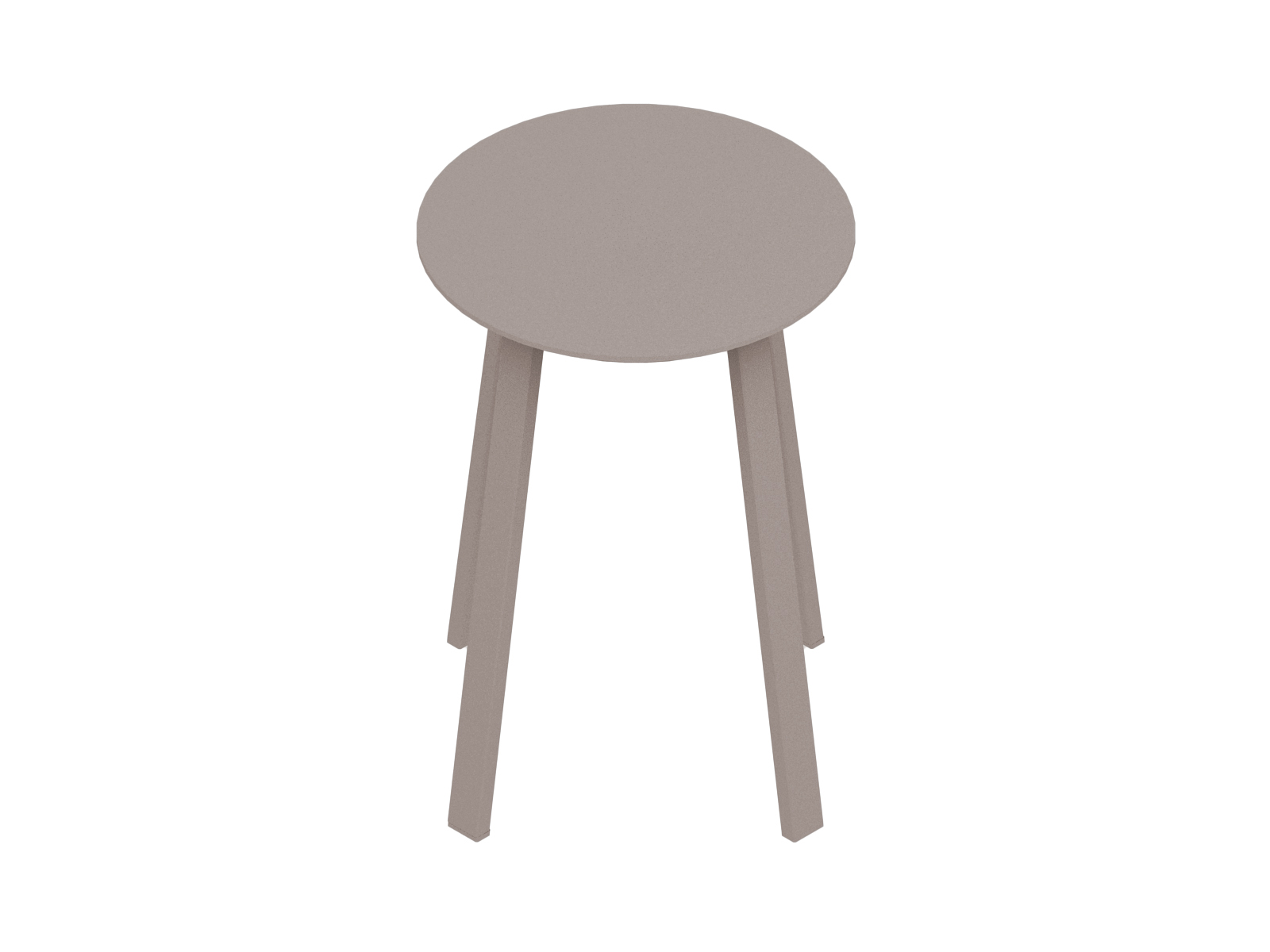 A generic rendering - Revolver Stool–Low