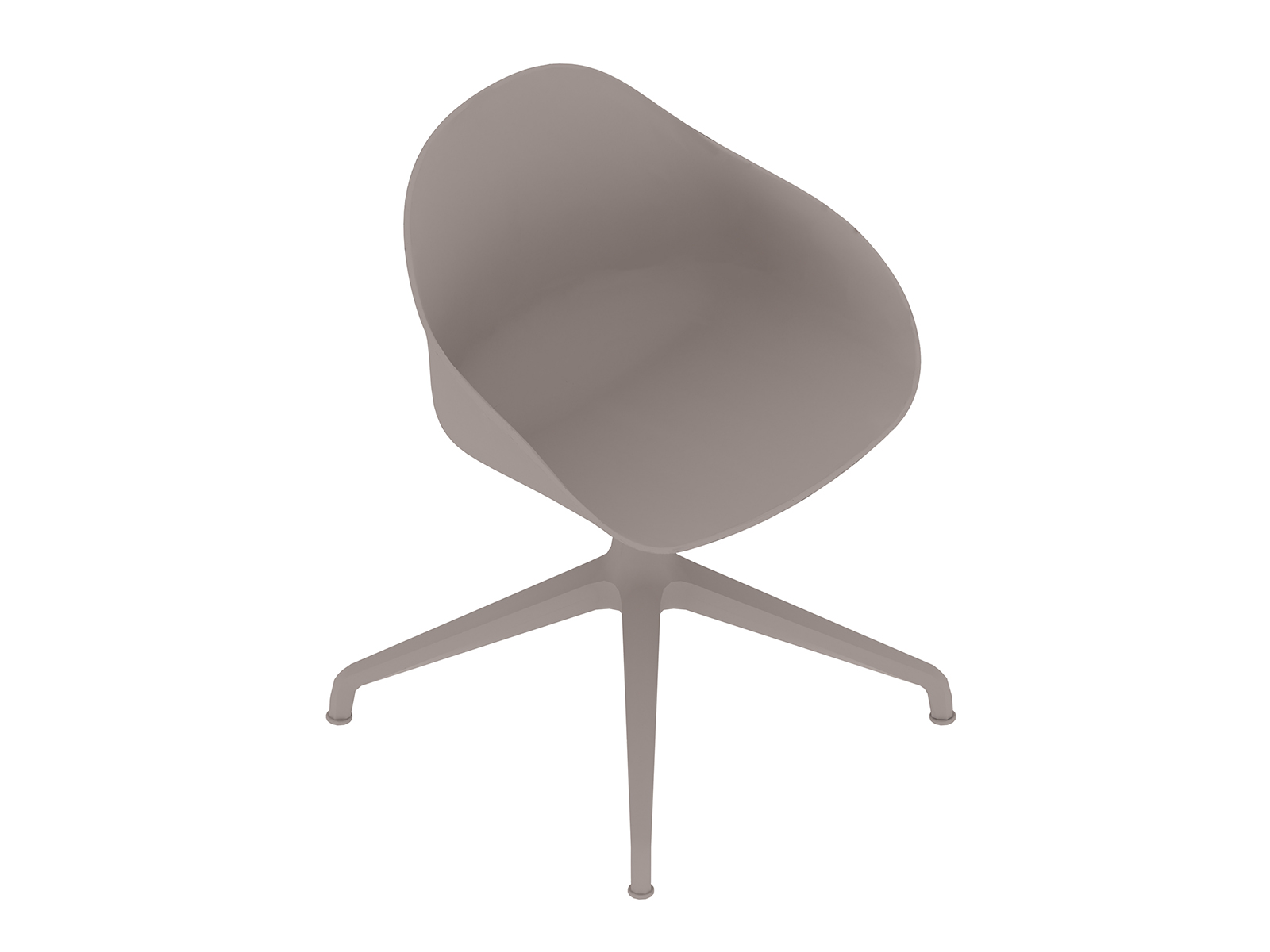 A generic rendering - Ruby Side Chair–4-Star Base–Nonupholstered