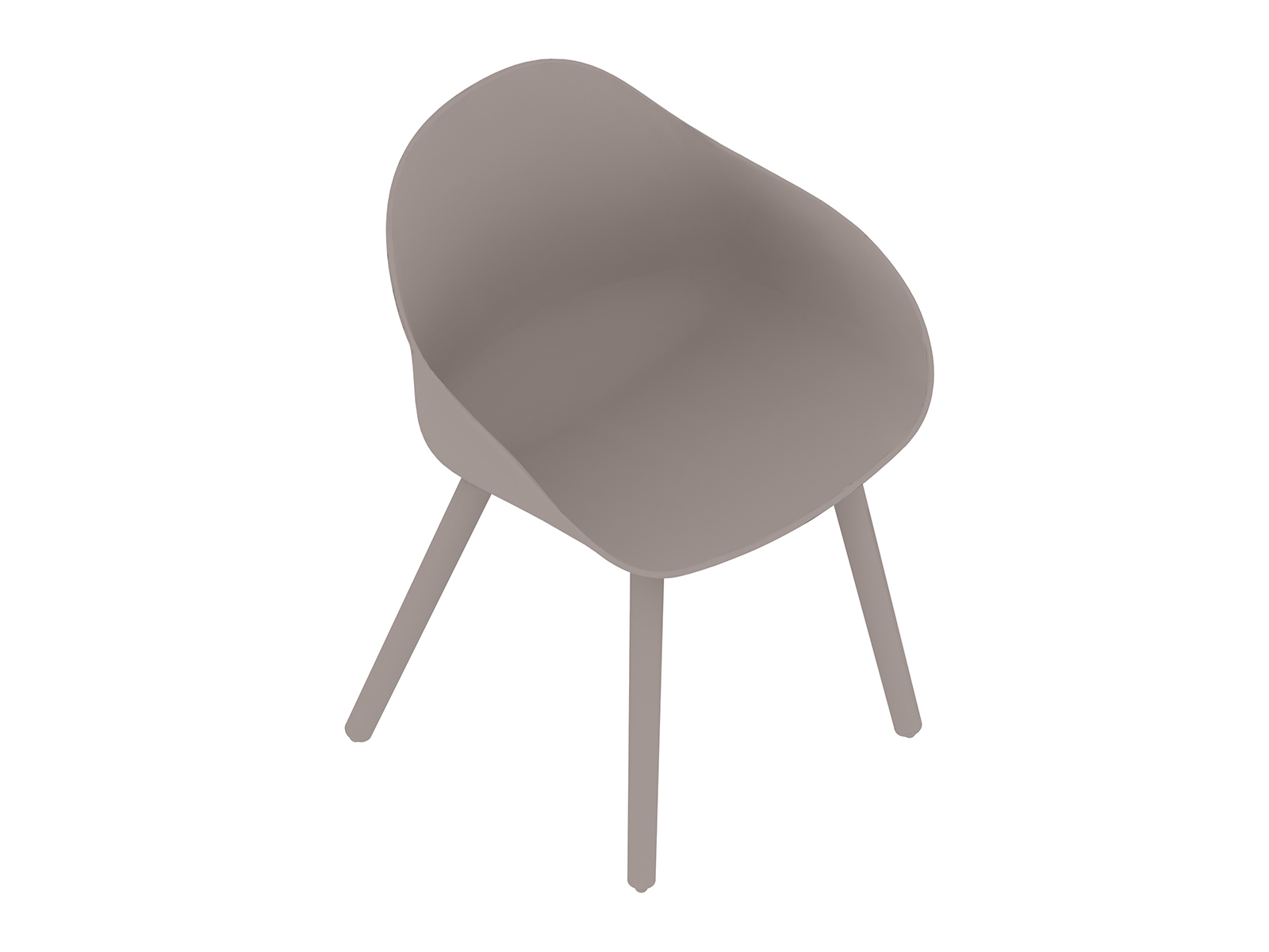A generic rendering - Ruby Side Chair–Dowel Base–Nonupholstered