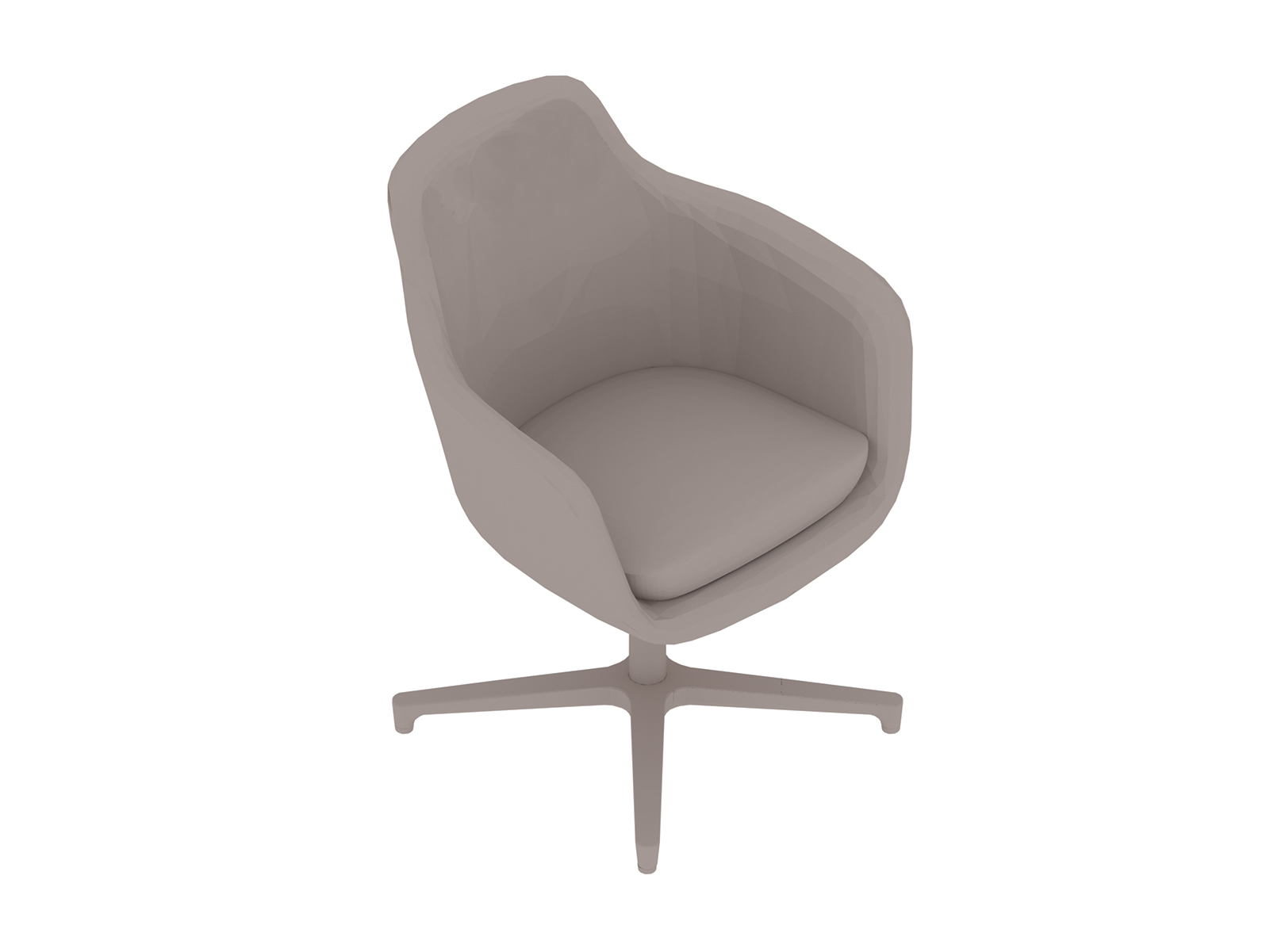 A generic rendering - Saiba Chair–Mid Back–4-Star Base